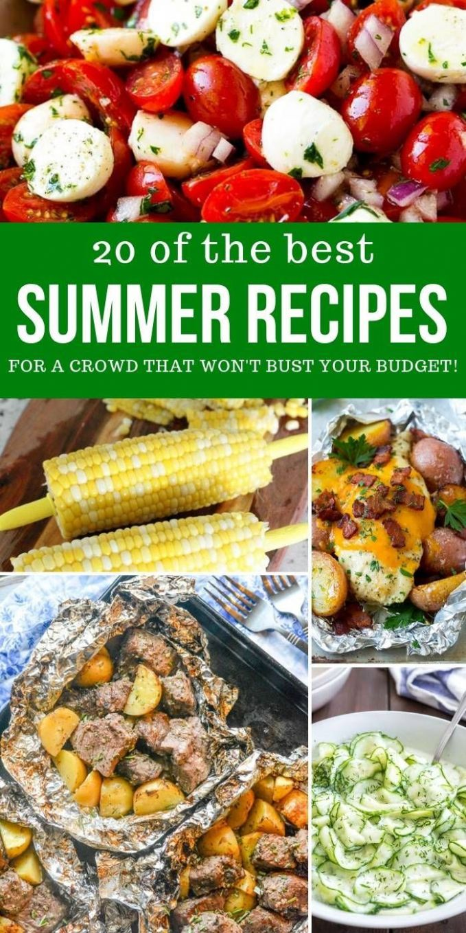 The Best Summer Recipes for a Crowd that Won't Bust Your Budget ...