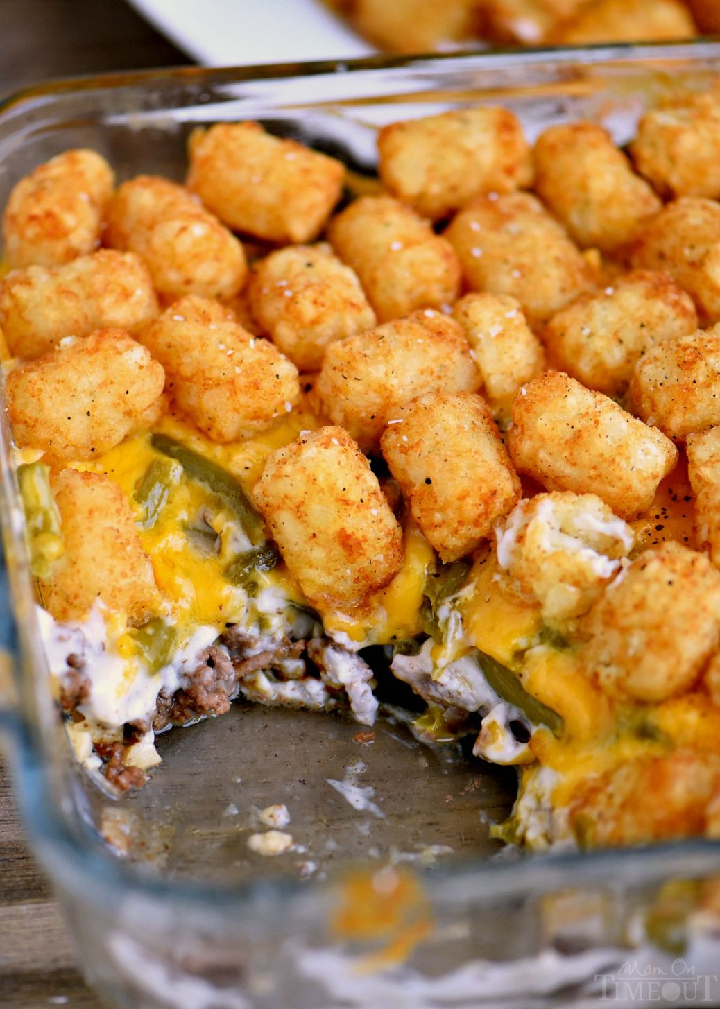 BEST Tater Tot Casserole - Simple Recipes Using Hamburger