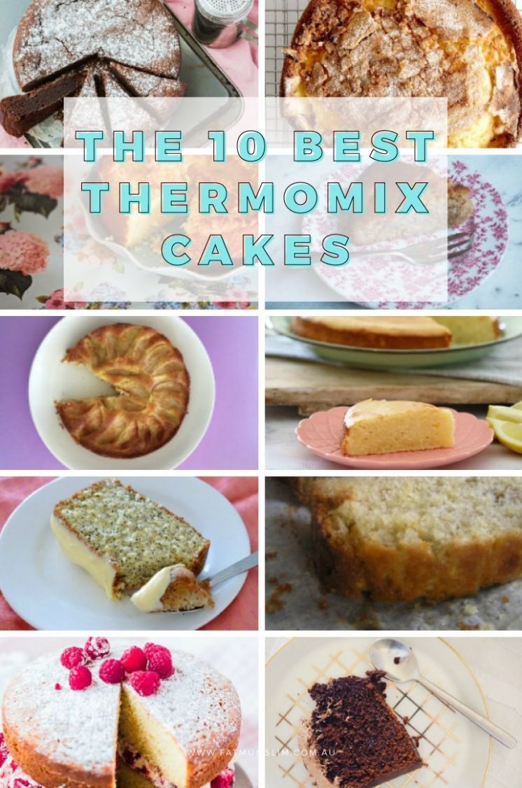 The Best Thermomix Cakes To Make, Bake & Enjoy - Fat Mum Slim - Cake Recipes Thermomix