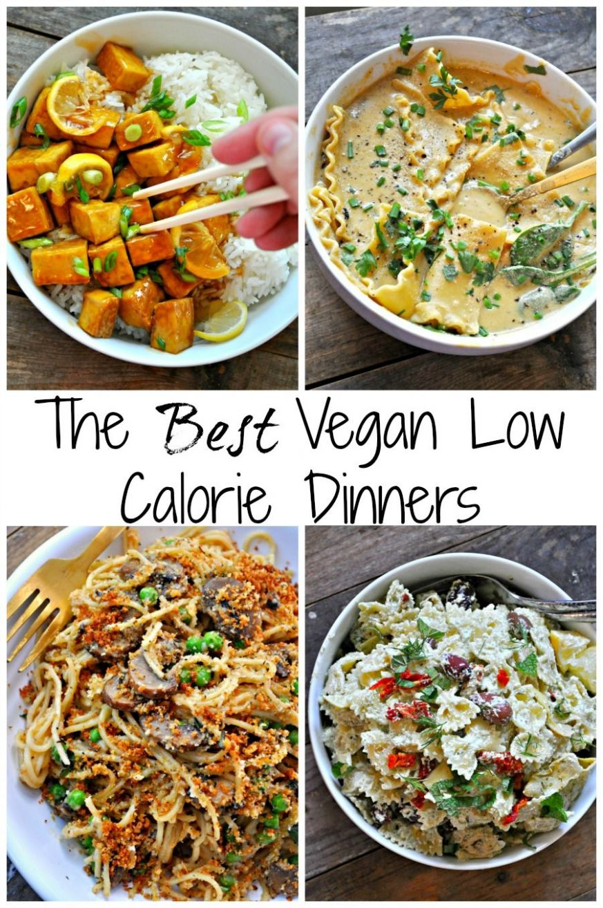 The Best Vegan Low Calorie Recipes | No calorie foods, Low calorie ...