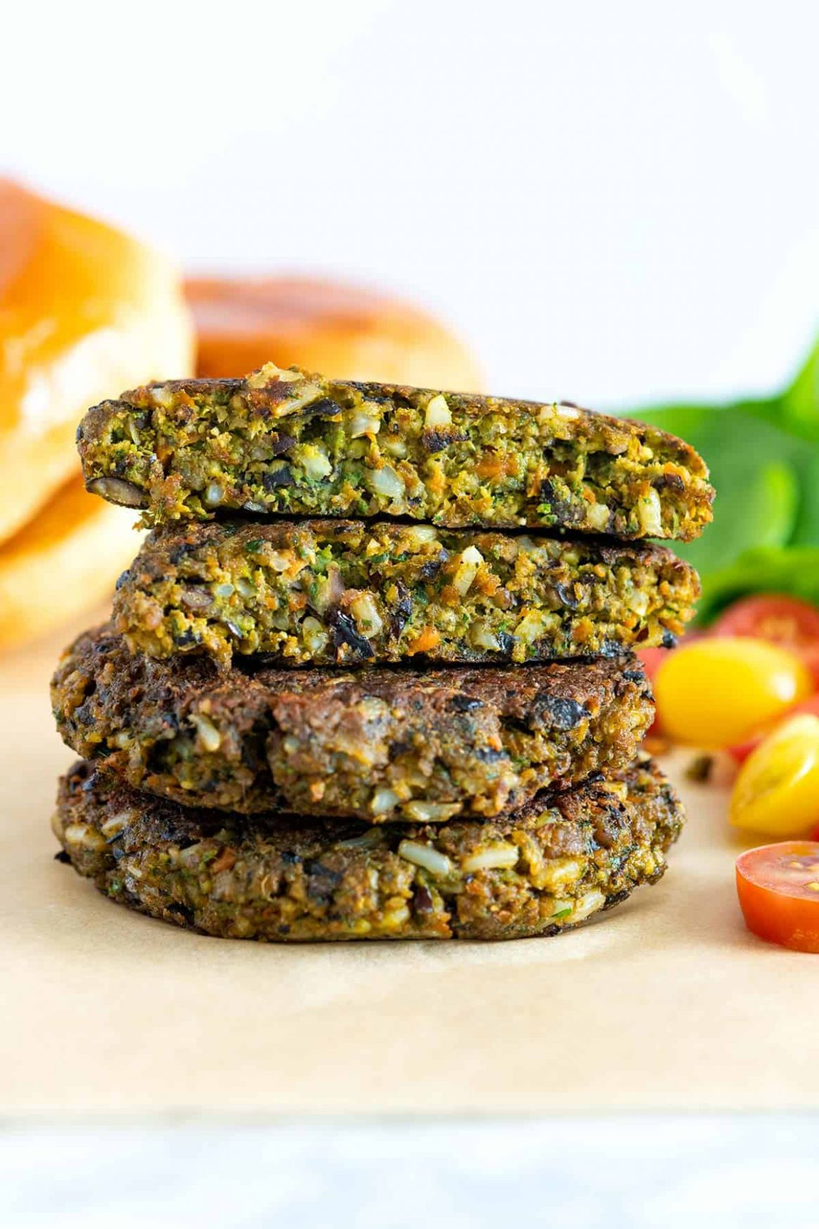 The Best Veggie Burger (Better Than Store-bought) - Recipes Vegetable Burgers