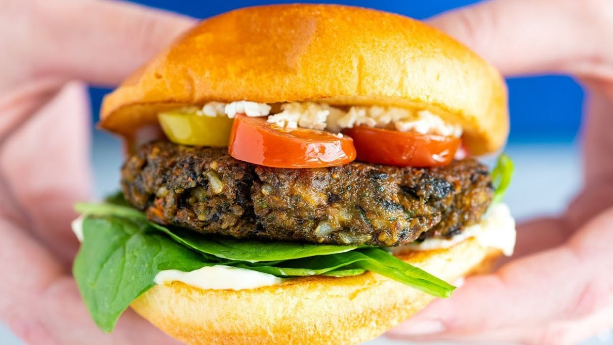 The Best Veggie Burger (Better Than Store-bought)