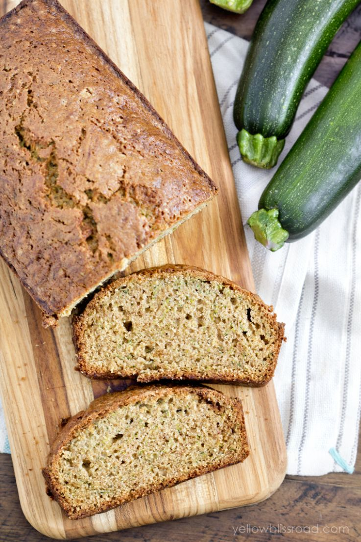 The BEST Zucchini Bread EVER