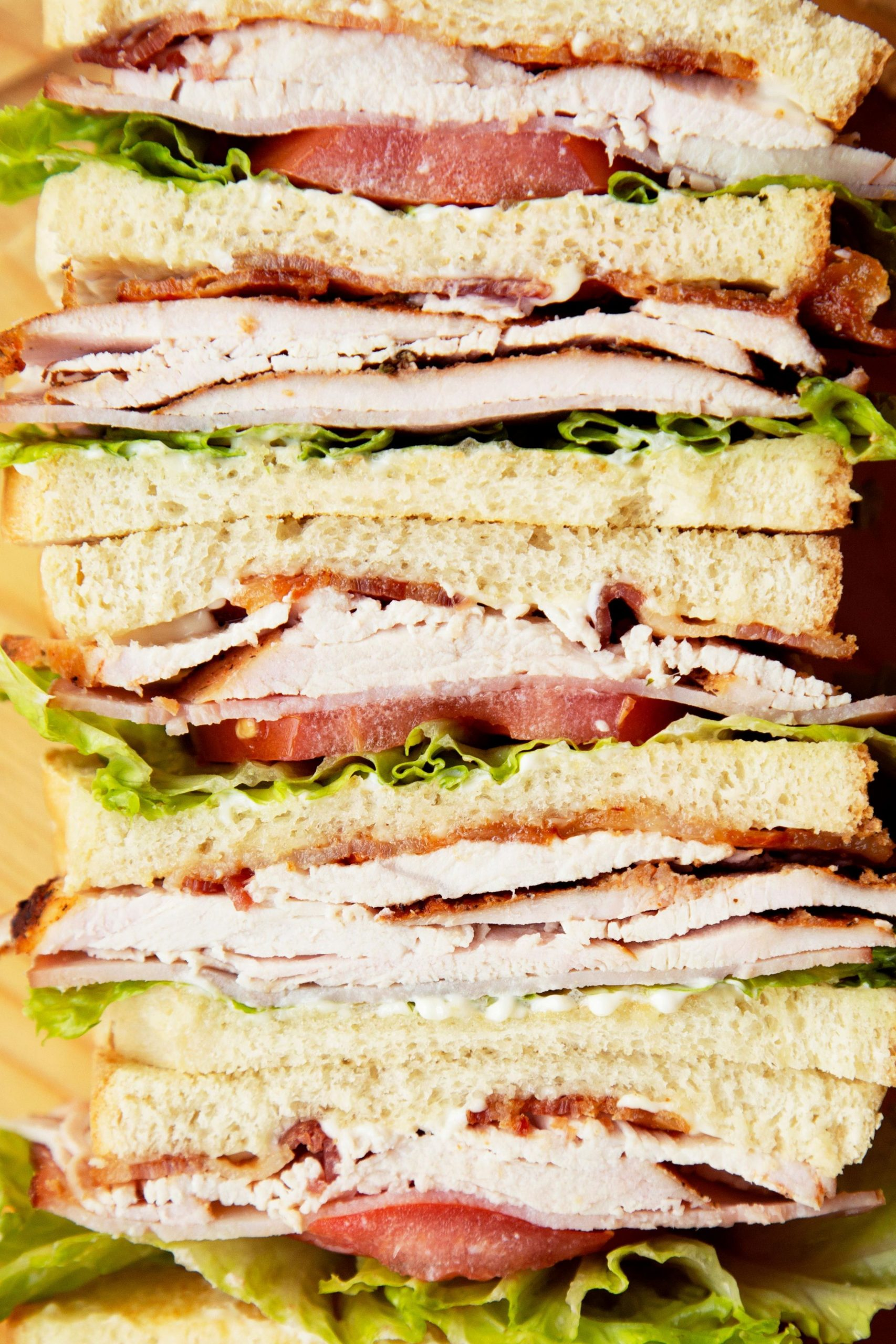The Classics: Turkey Club Sandwiches - Sandwich Recipes Turkey