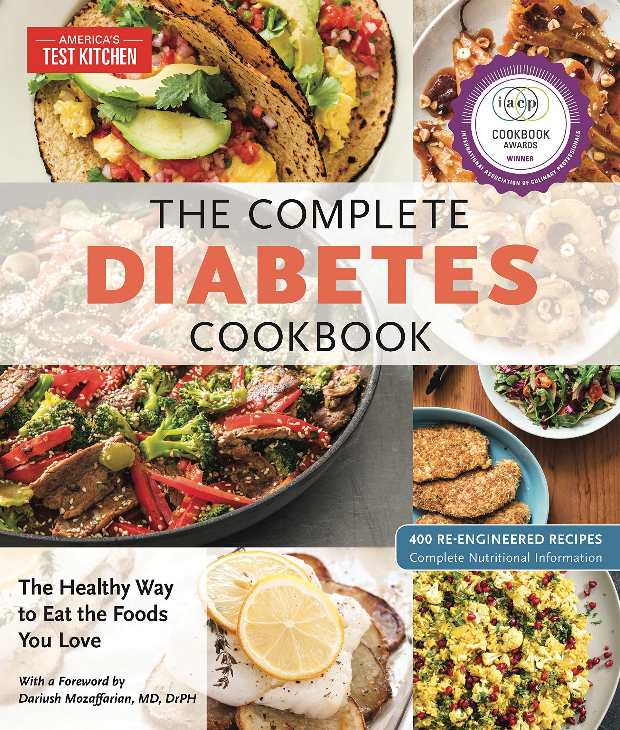 The Complete Diabetes Cookbook: The Healthy Way to Eat the Foods ..