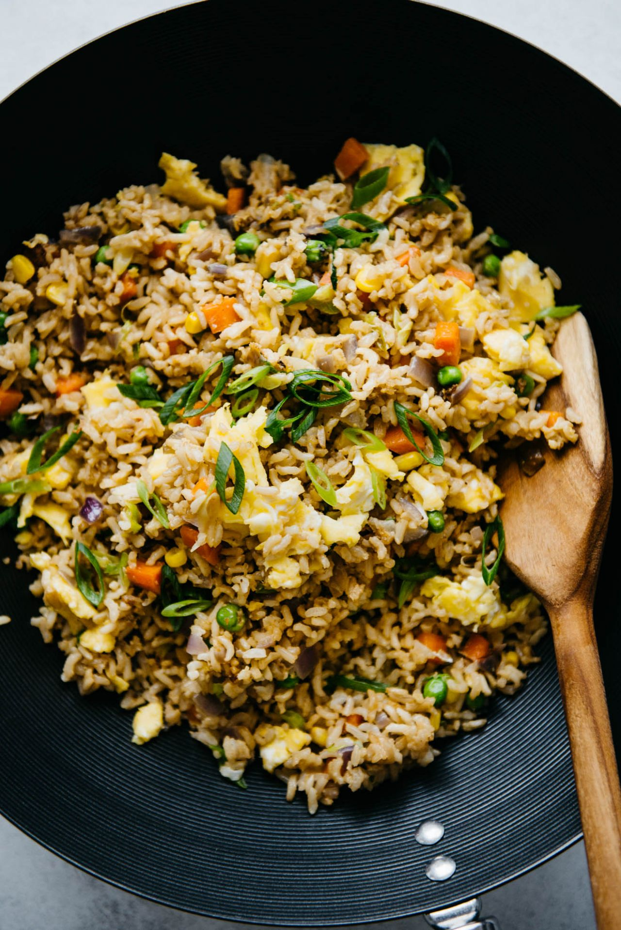 The Easiest Egg Fried Rice - Rice Recipes Healthy Easy