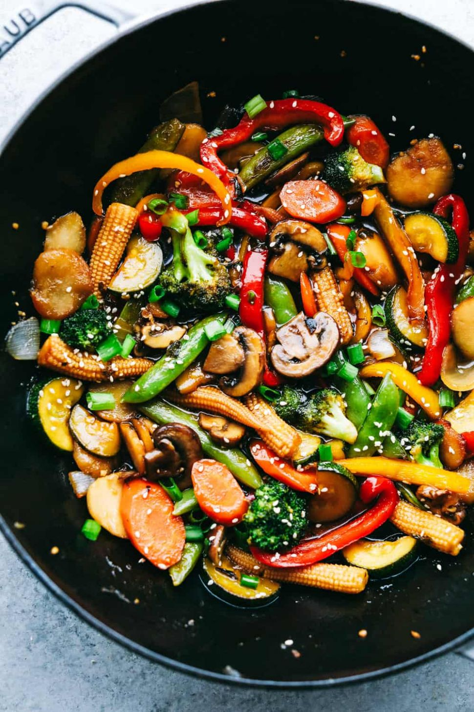 The Easiest Vegetable Stir Fry