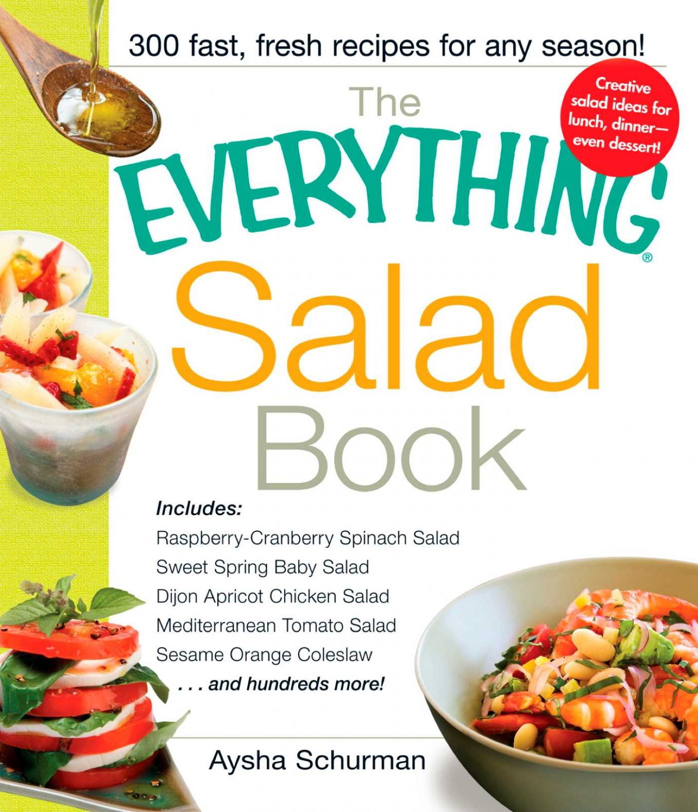 The Everything Salad Book eBook by Aysha Schurman | Official ...