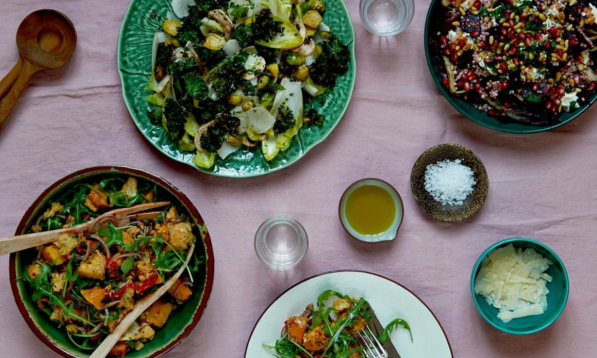"""The Guardian on Twitter: """"Three salad recipes to make you think .."""