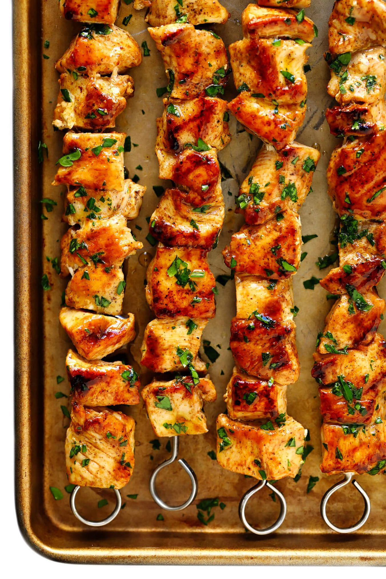 The Juiciest Grilled Chicken Kabobs - Recipes Chicken Kebabs