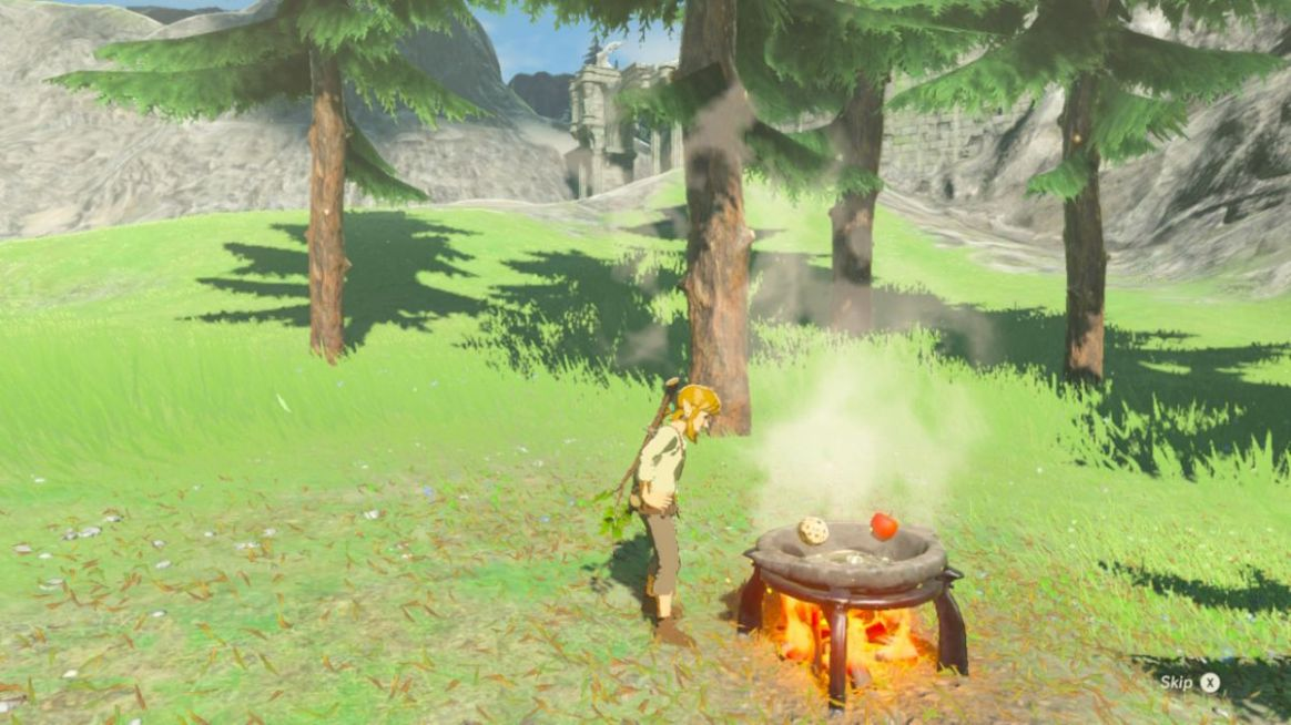 The Legend of Zelda: Breath of the Wild cooking recipes guide ..
