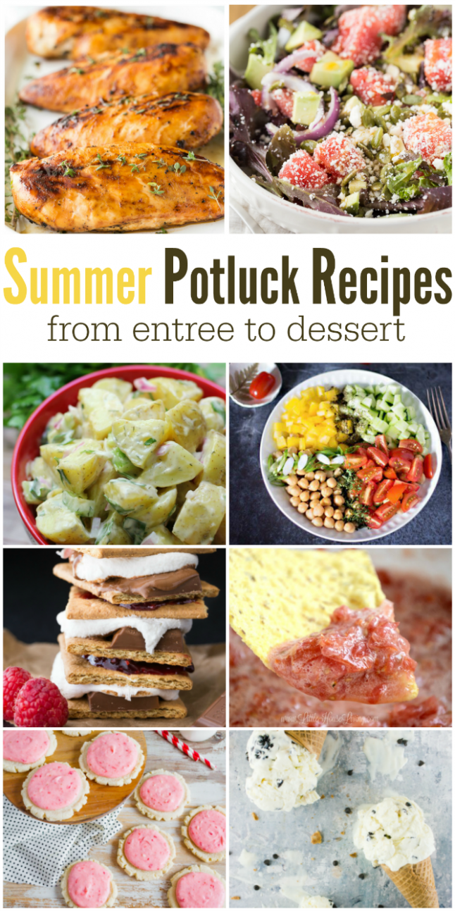 The Life of Jennifer Dawn: Recipes for a Summer Potluck & Weekly ..