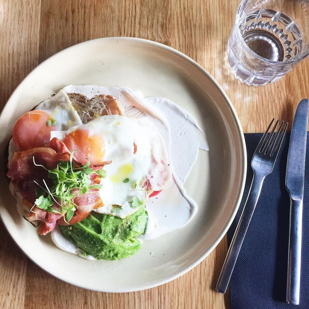 The more avocado the better with my breakfast! Foodie Blogger ..