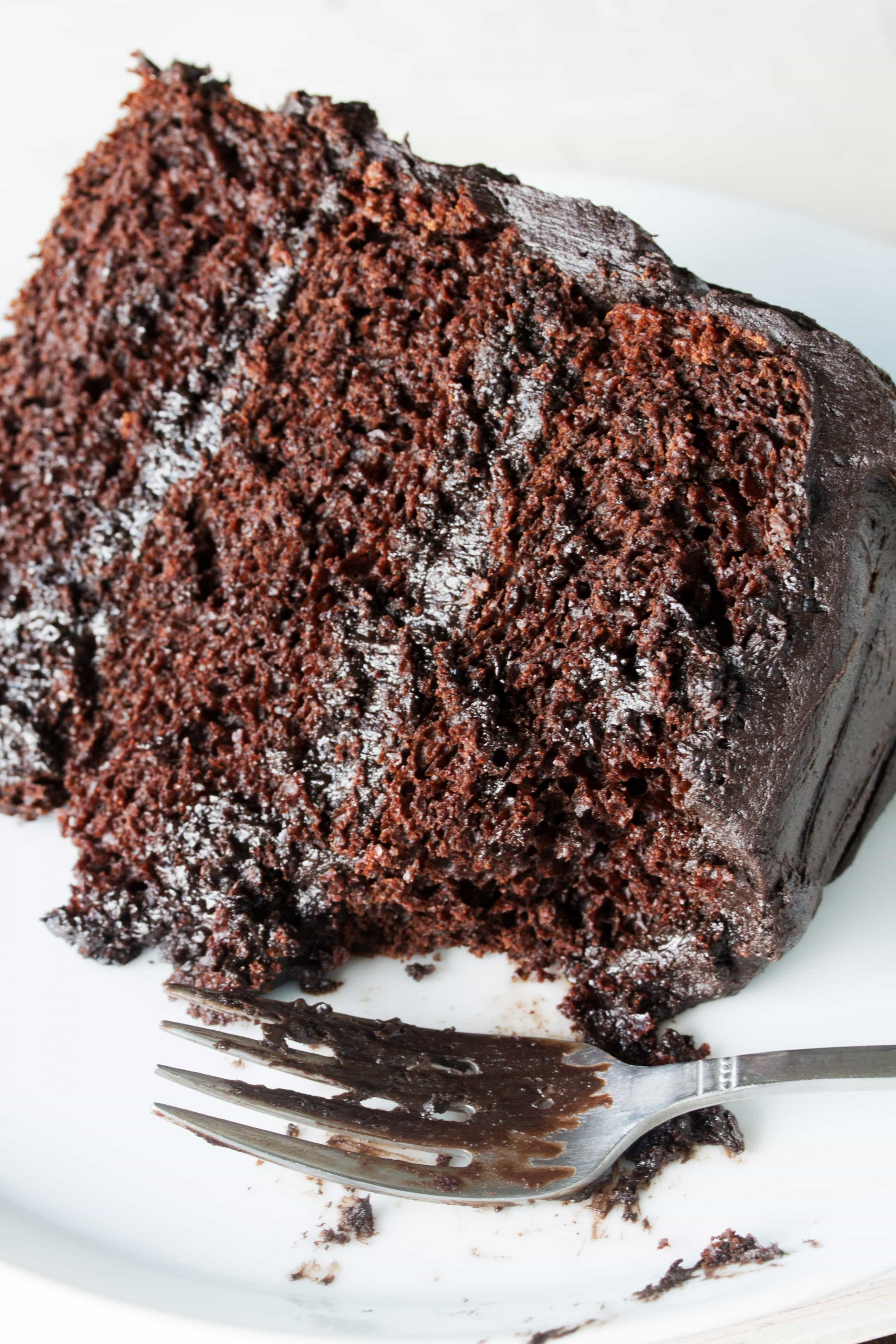 The Most Amazing Chocolate Cake - Recipe Rich Chocolate Cake