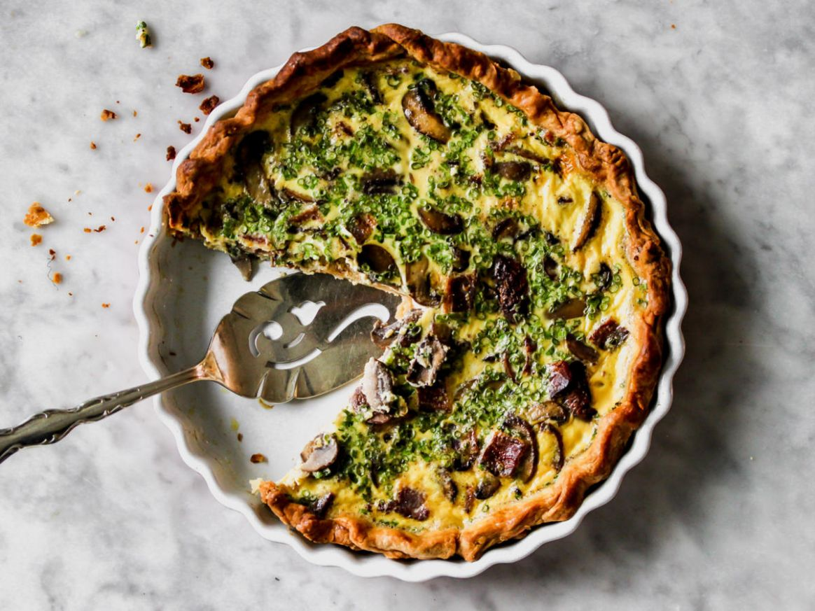 The Only Basic Quiche Recipe You'll Ever Need