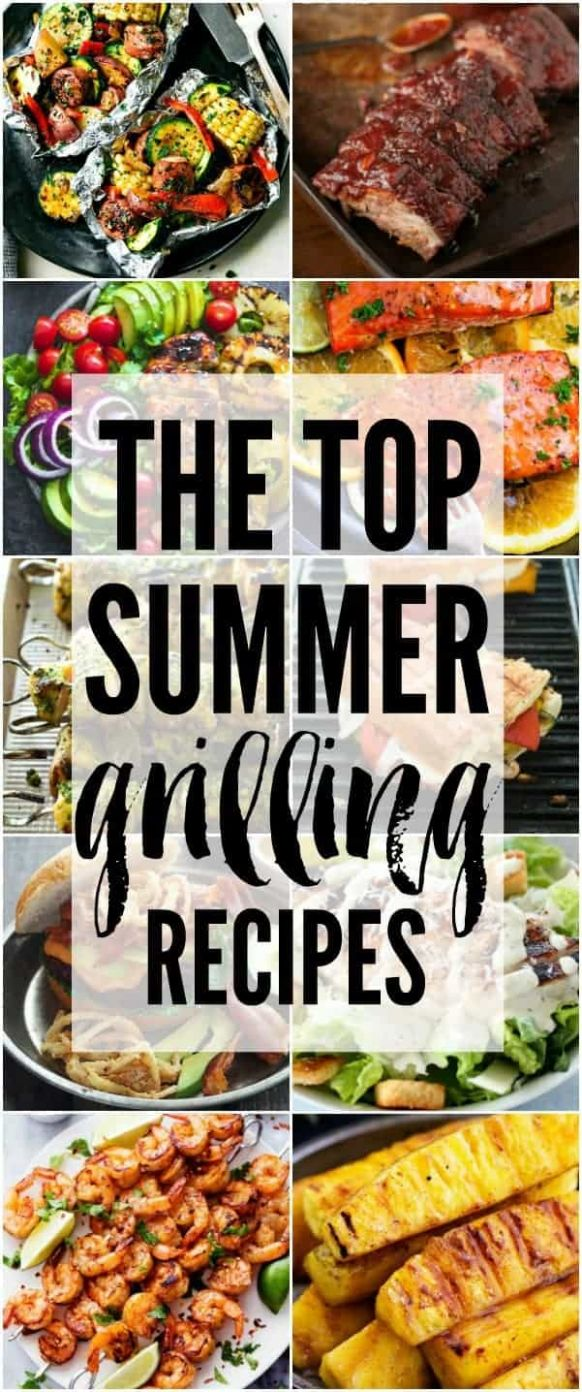 The Top Summer Grilling Recipes | The Recipe Critic