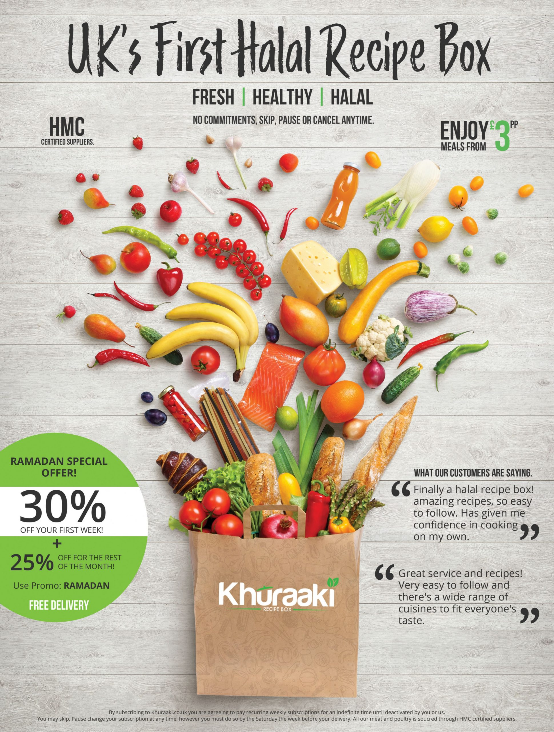 The UK's First Halal Recipe Box Company: Khuraaki - Latest, Press ...