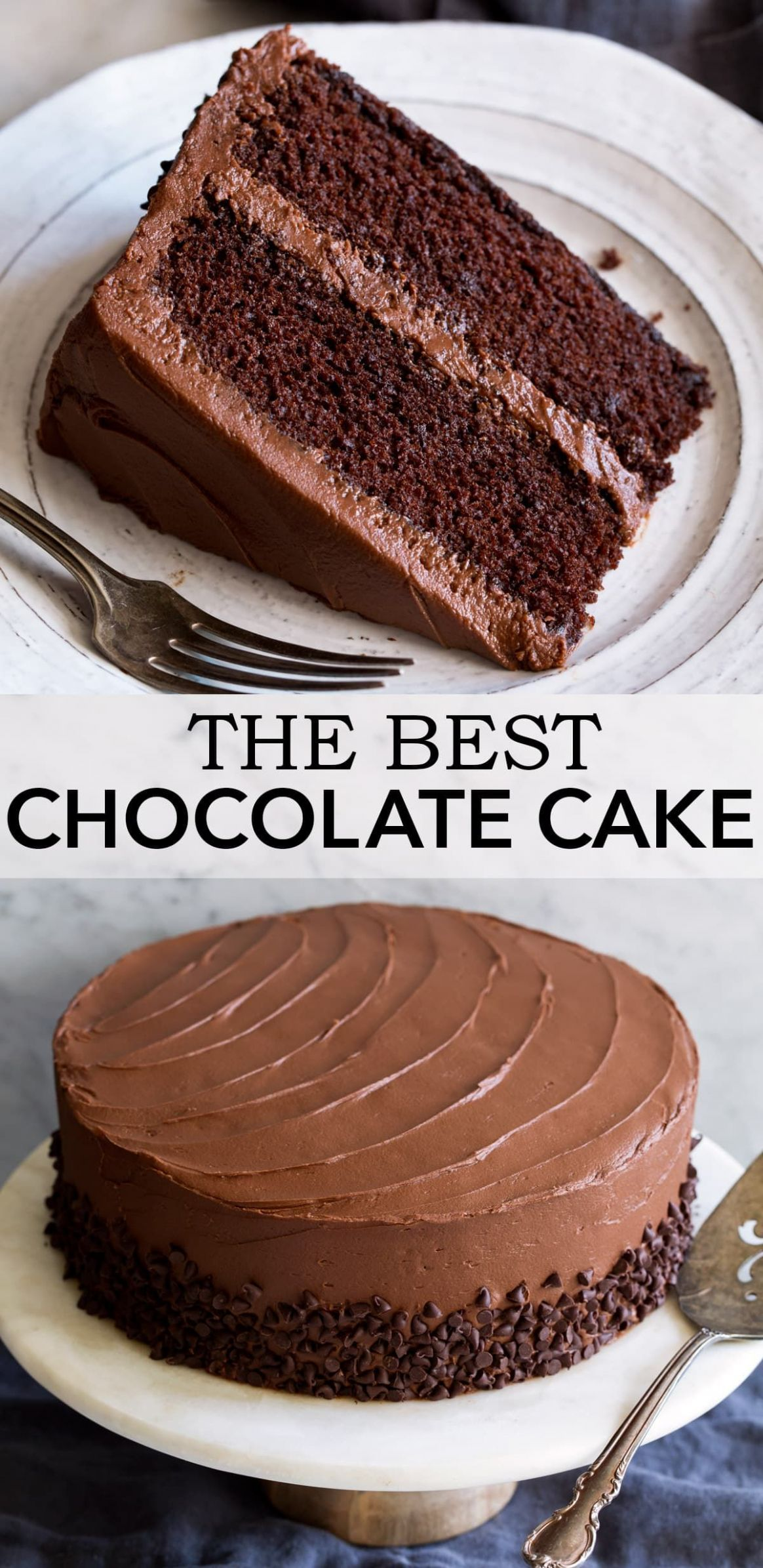 The Ultimate Chocolate Cake - incredibly soft and moist and ..