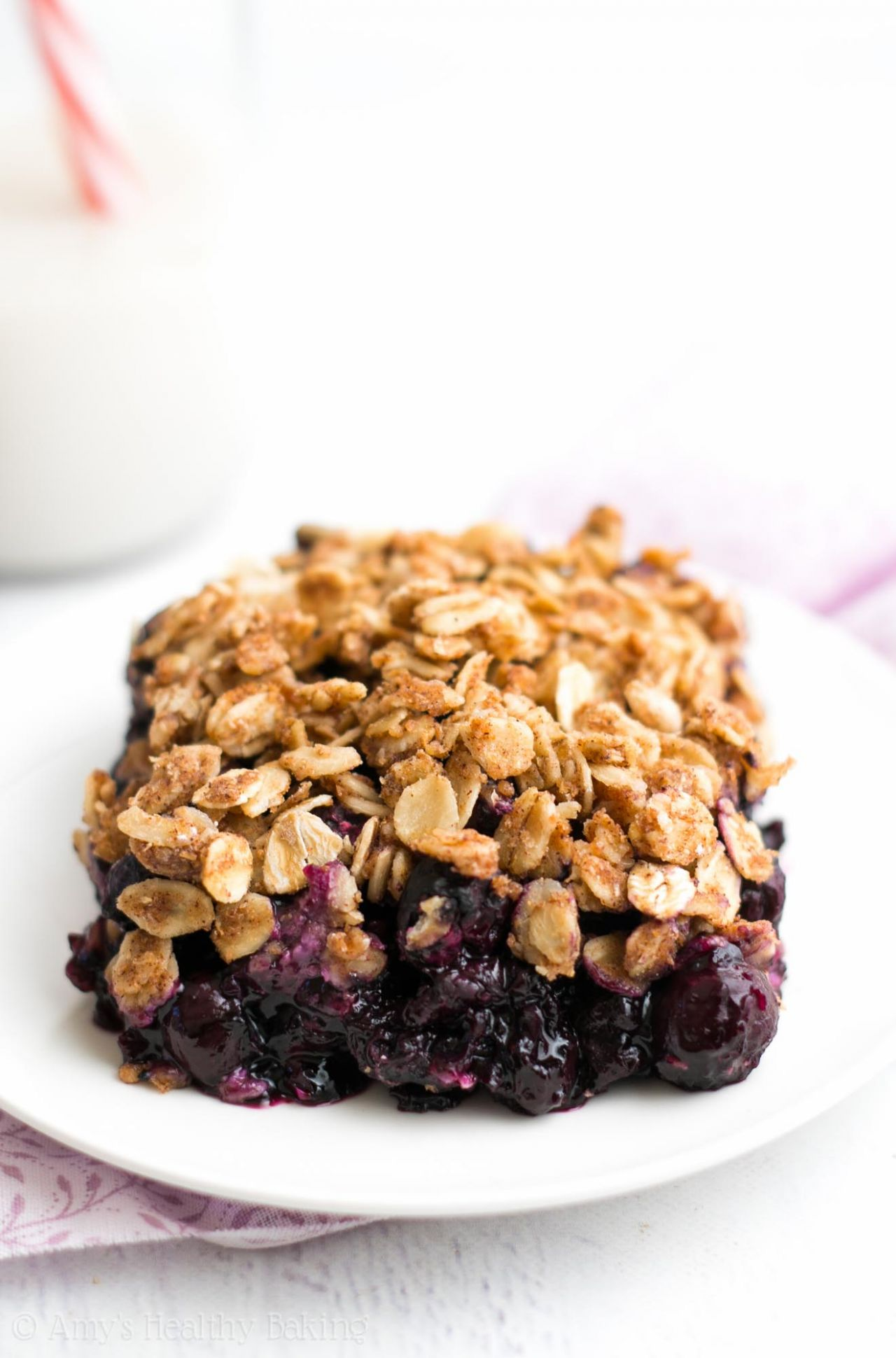 The Ultimate Healthy Blueberry Crumble - Healthy Recipes With Blueberries