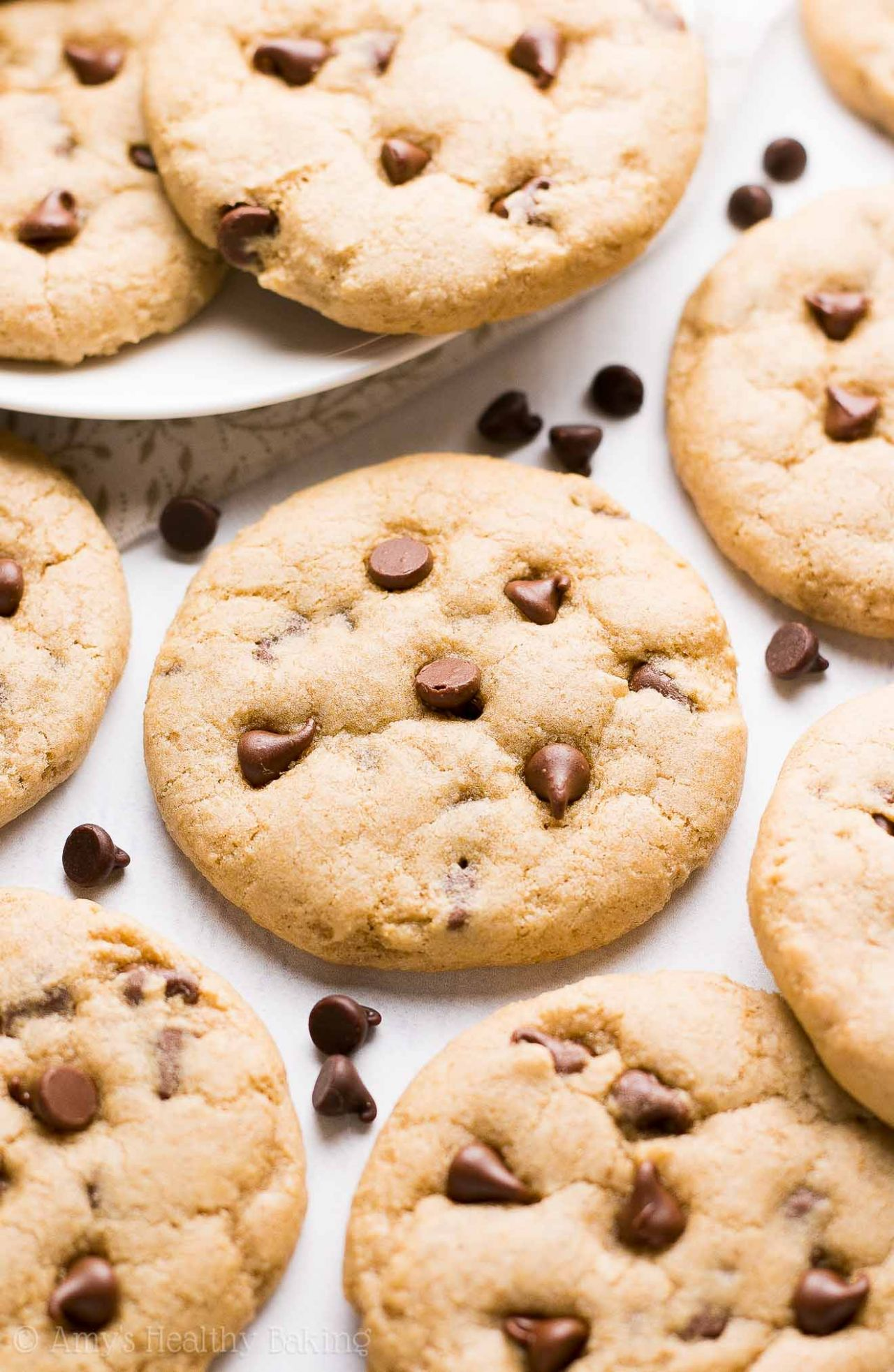 Ultimate Healthy Soft & Chewy Egg-Free Chocolate Chip Cookies - Recipes Egg Free