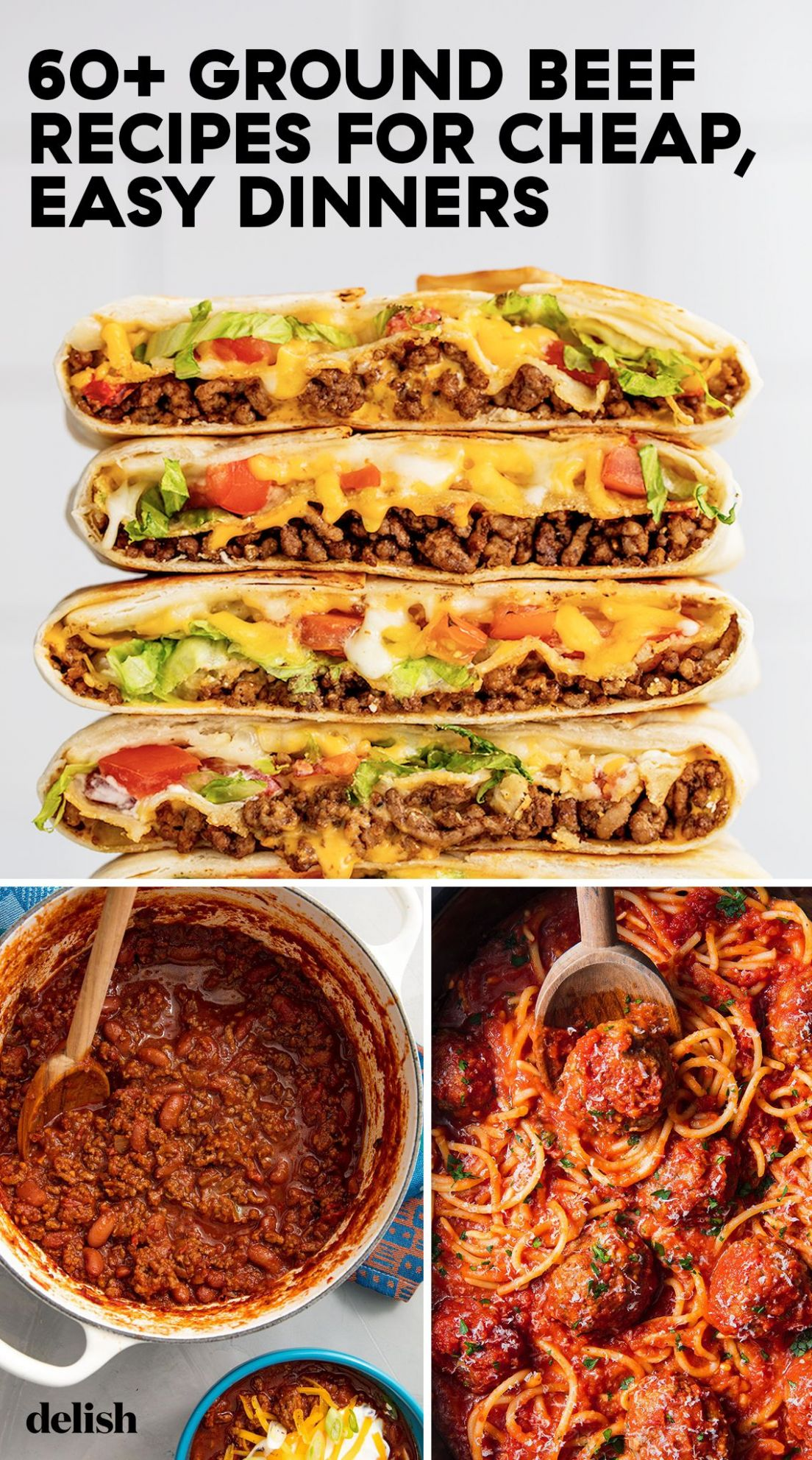 These Budget-Friendly Ground Beef Recipes Are Easy To Make And SO ...