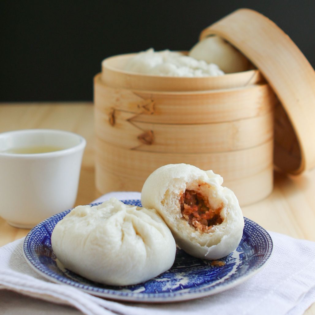 Thirsty For Tea Dim Sum Recipe #11: Steamed BBQ Pork Buns (Char Siu ...