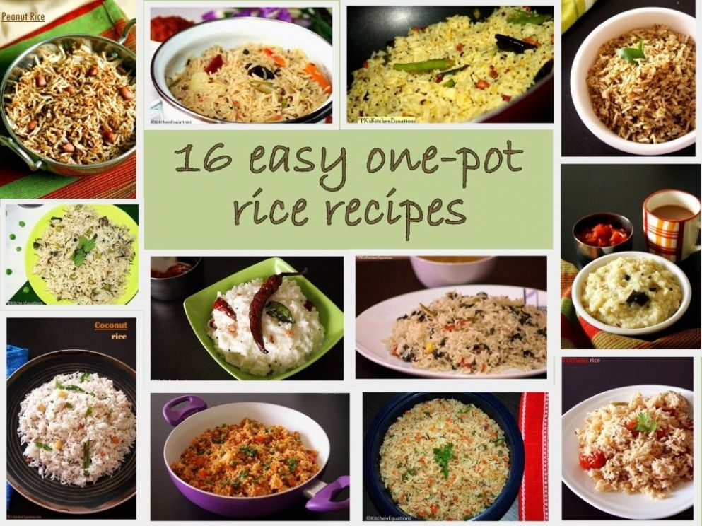 This is a list of 8 easy and delicious rice recipes that can be ..