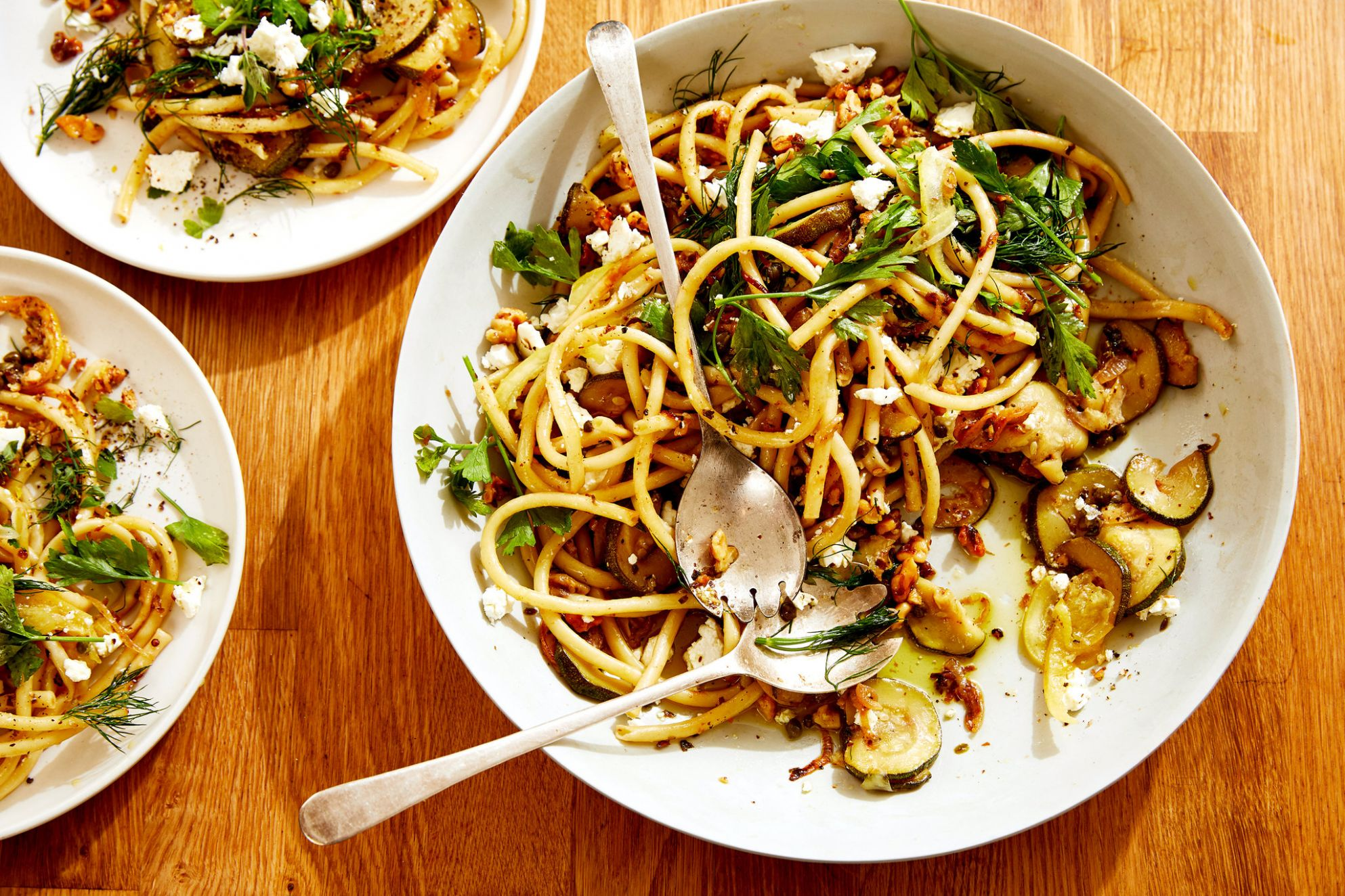 This Pasta May Actually Taste Better Outside - The New York Times - Pasta Recipes Taste