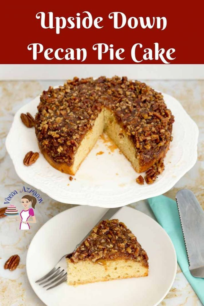 This upside down pecan cake makes the best dessert for Rosh ...