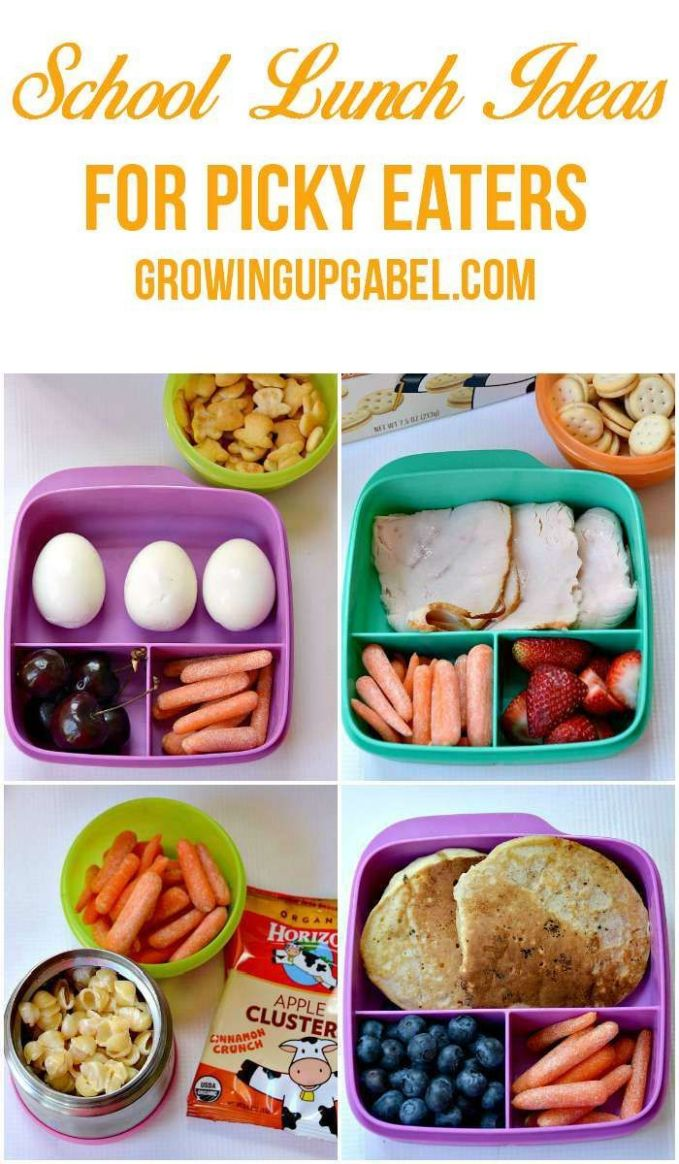 Tired of trying to figure out what to pack your picky eater for ...