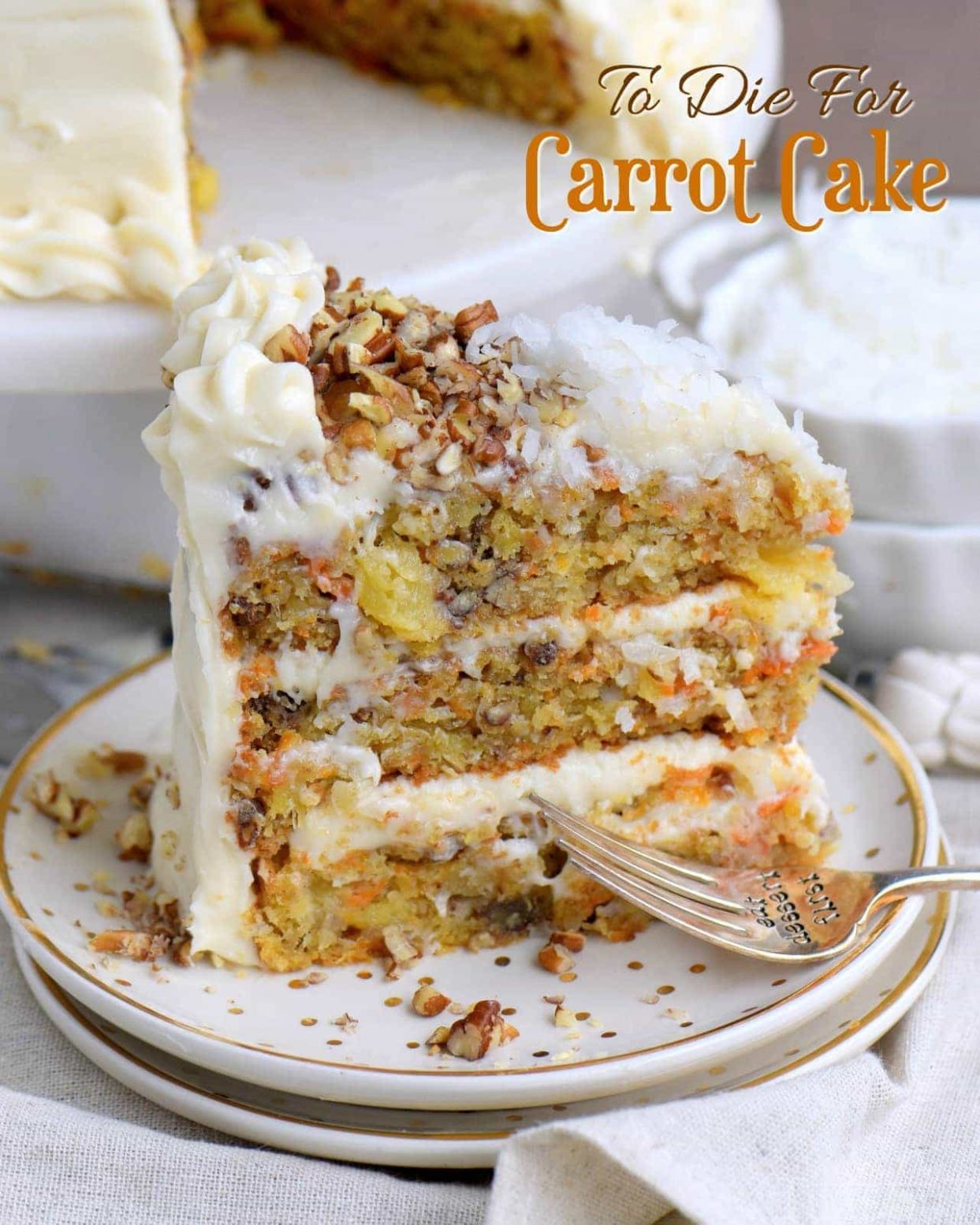 To Die For Carrot Cake - Cake Recipes Using Oil Not Butter