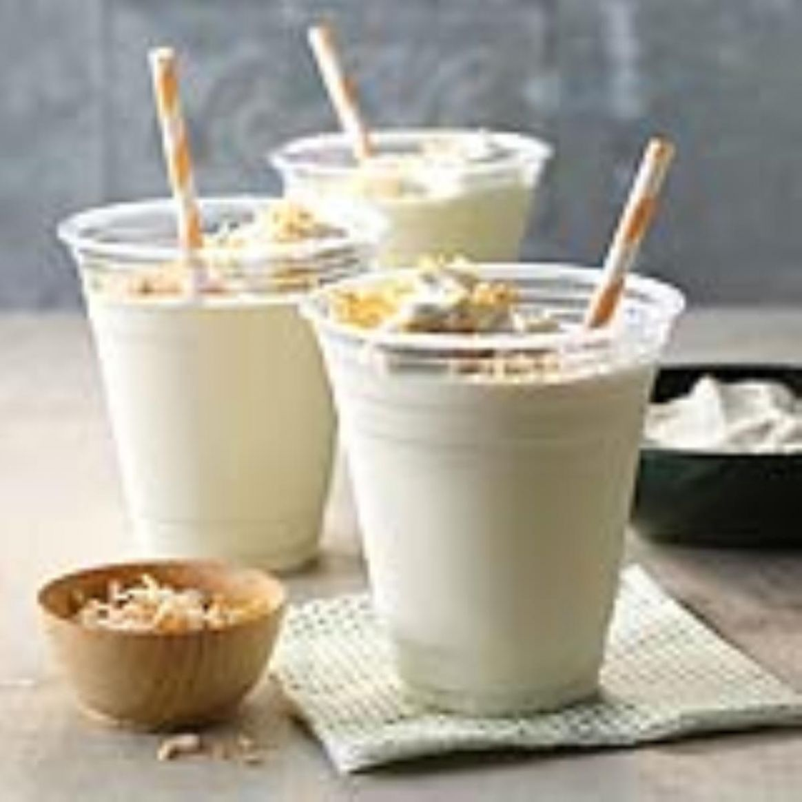 Toasted Coconut Milk Shakes