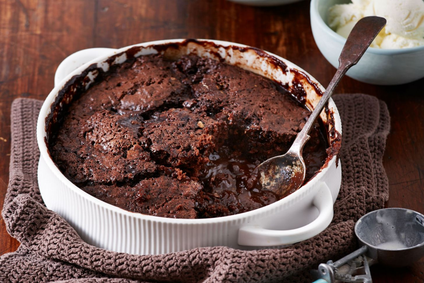 Toblerone Self-Saucing Pudding - Recipe Chocolate Self Saucing Pudding