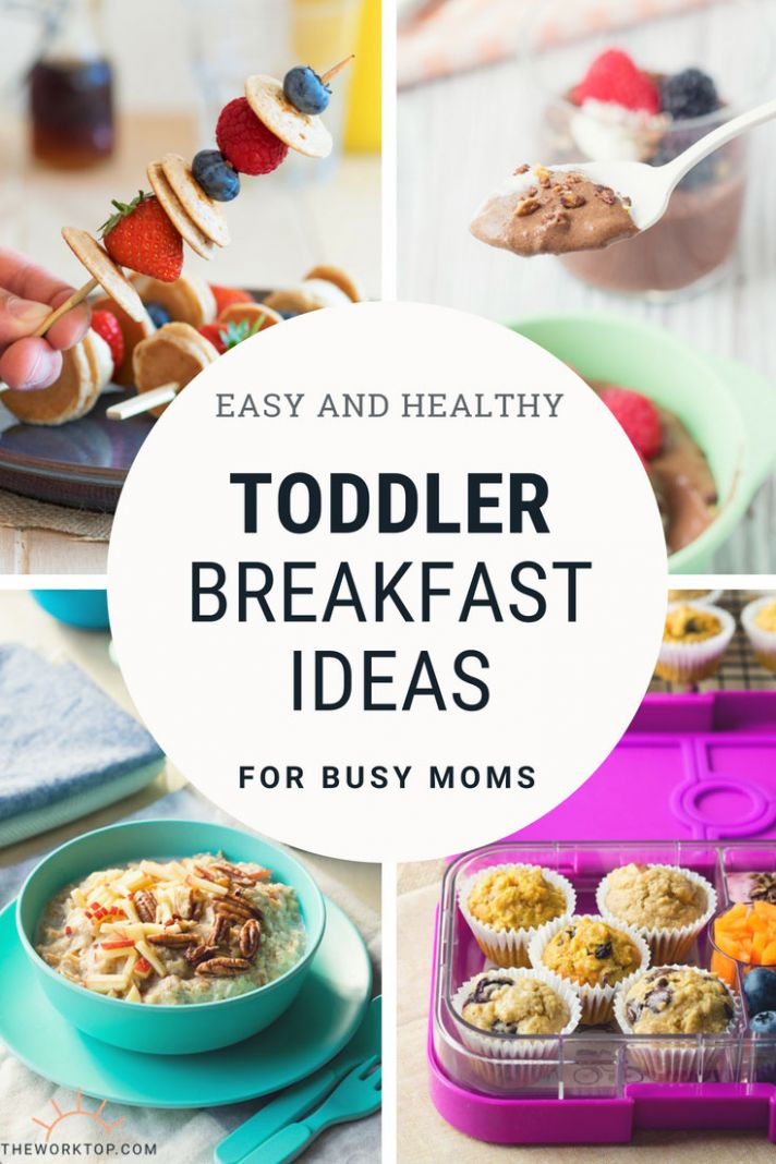 Toddler Breakfast Ideas - 9+ Easy Healthy Recipes | The Worktop