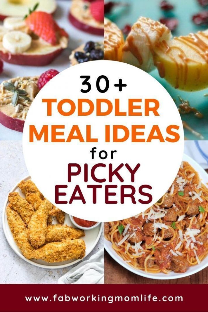 Toddler meals for Picky Eaters - 10+ quick and easy toddler ..