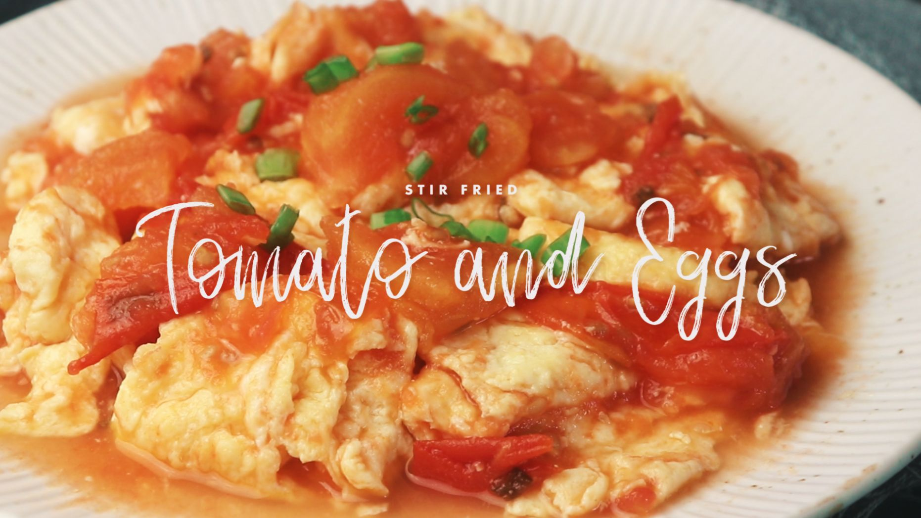 Tomato and Eggs Stir-Fry - Recipe Egg And Tomato