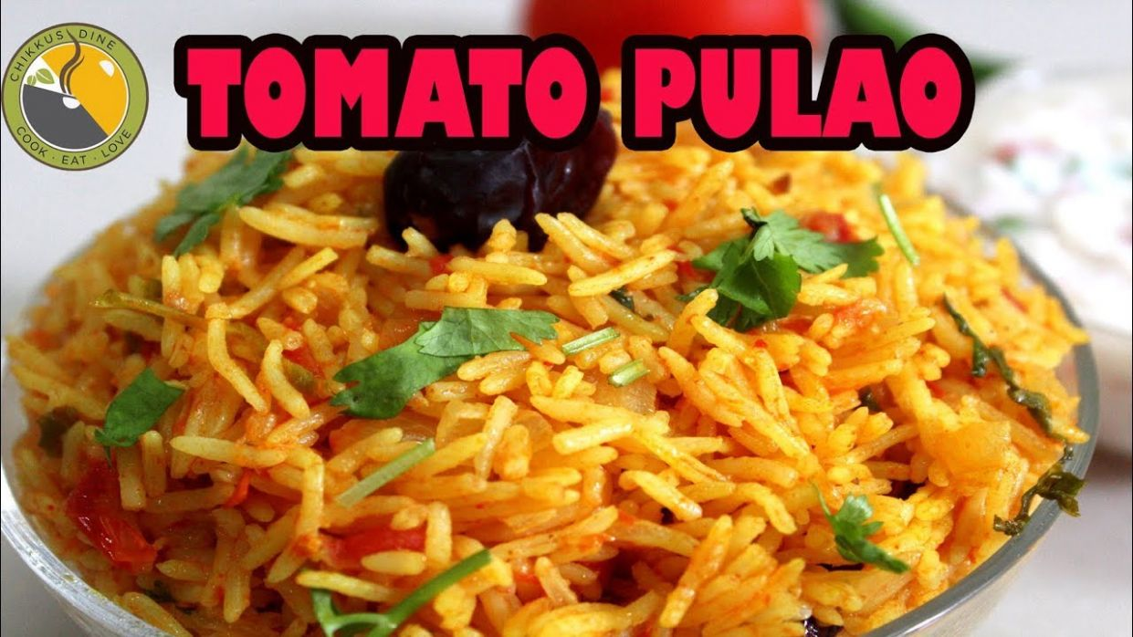 TOMATO RICE MALAYALAM || TOMATO PULAO || EASY LUNCH BOX RECIPE – YouTube  Ep. #10