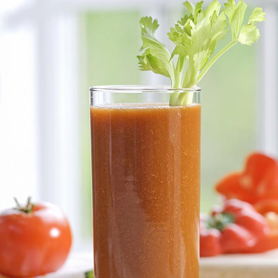 Tomato-Vegetable Juice - Recipes For Vegetable Juicer