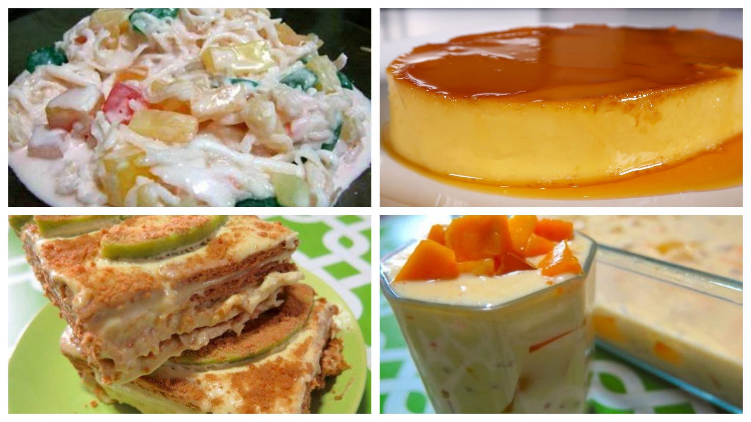 Top 10 Dessert Recipes | Panlasang Pinoy Recipes™