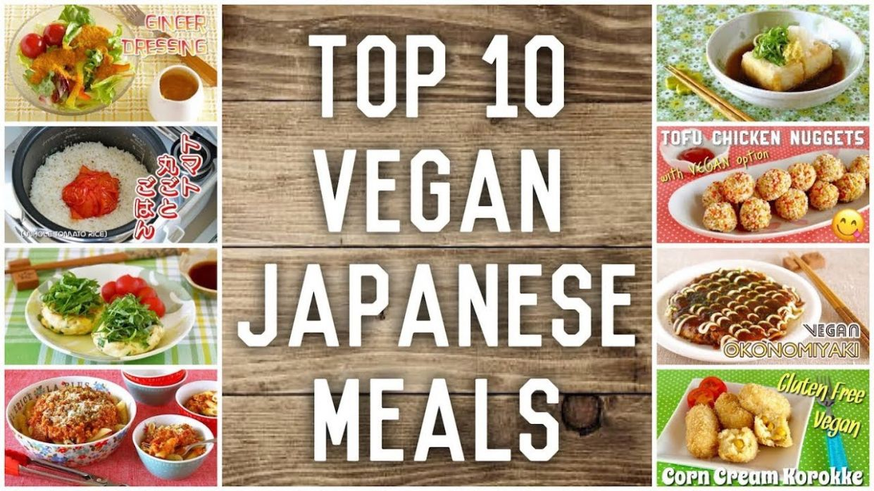 Top 10 Vegan Japanese Meals Recipes | OCHIKERON | Create Eat Happy :) - Vegetarian Recipes Japanese Food
