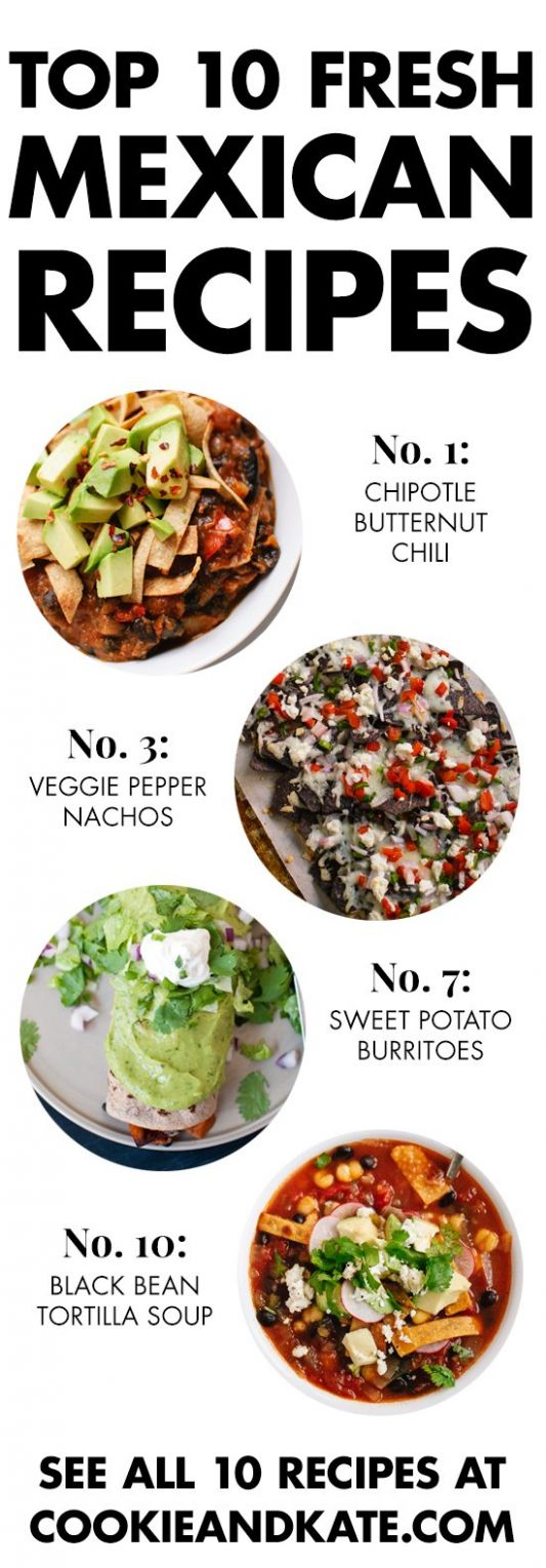Top 10 Vegetarian Mexican Recipes - Cookie and Kate