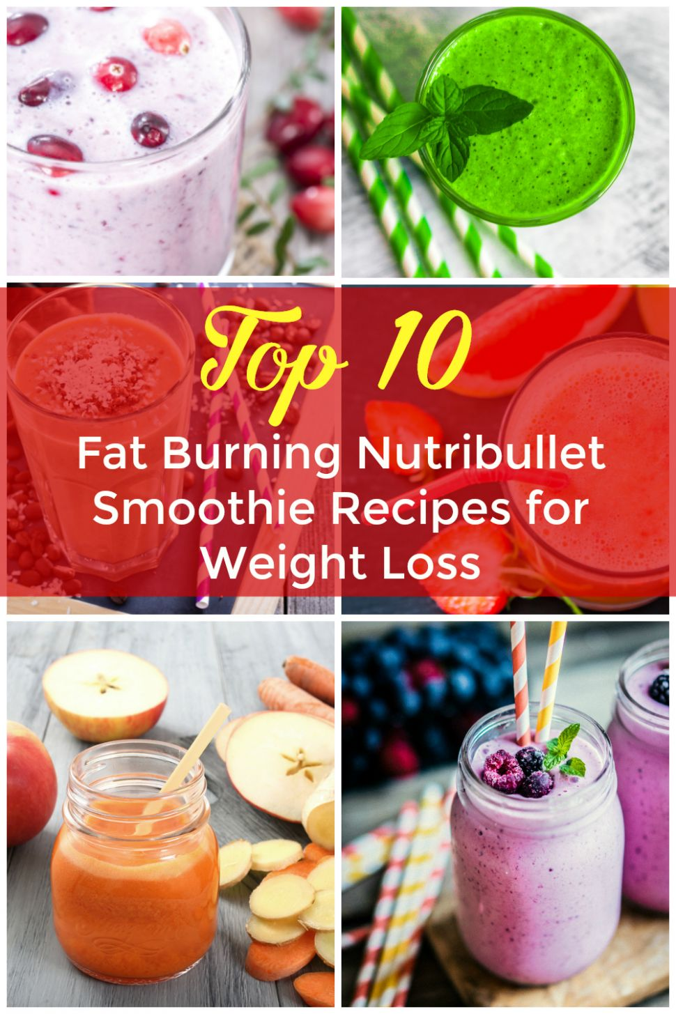 Top 11 Diet Nutribullet Smoothie Recipes - All Nutribullet Recipes - Smoothie Recipes For Weight Loss Lunch