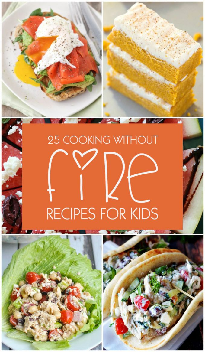 Top 8 Cooking Without Fire Recipes for Kids