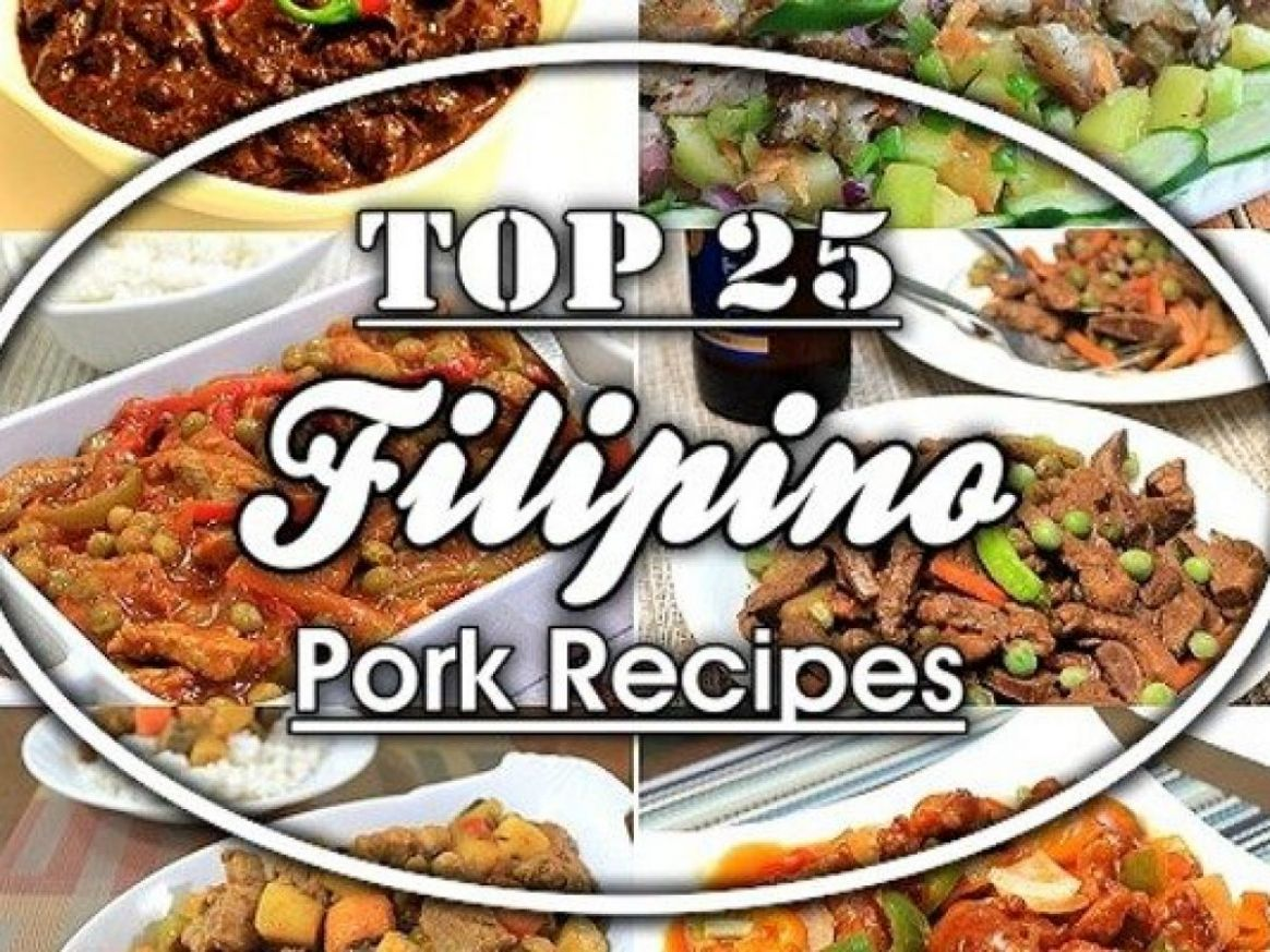Top 8 Filipino Pork Recipes