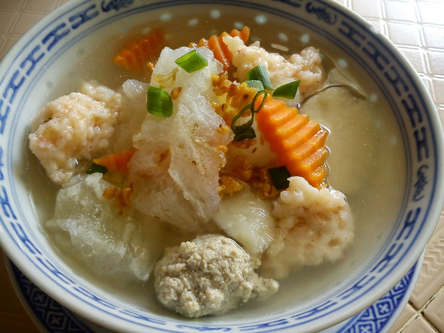 Top Mobile Recipes: FISH MAW SOUP [NYONYA HU PIOH T'NG]