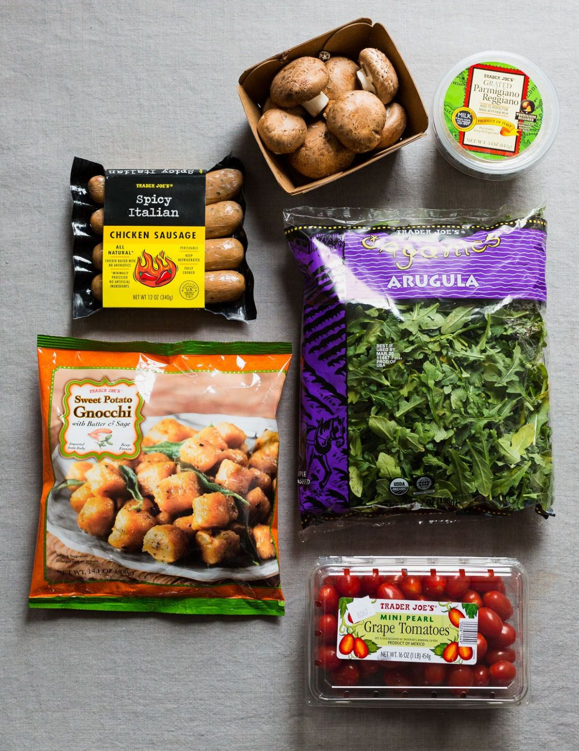 Trader Joe's Dinner Hack (With Sweet Potato Gnocchi) | Trader joes ...