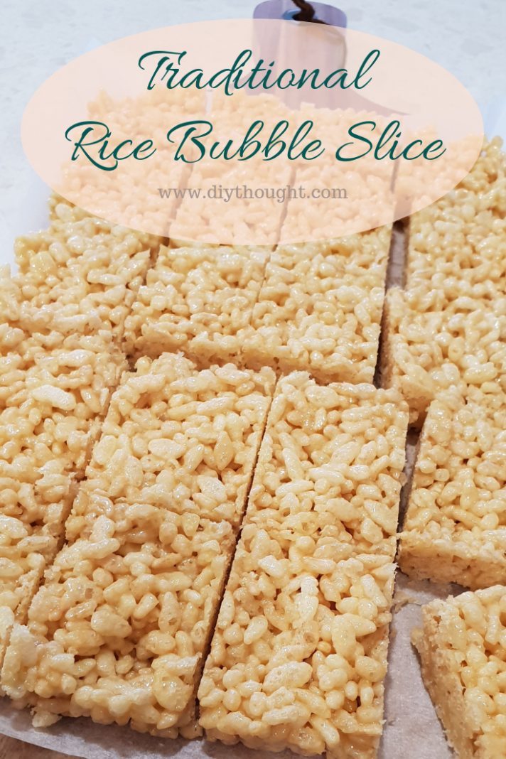 Traditional Honey Rice Bubble Slice | Rice bubble slice, Recipes ...