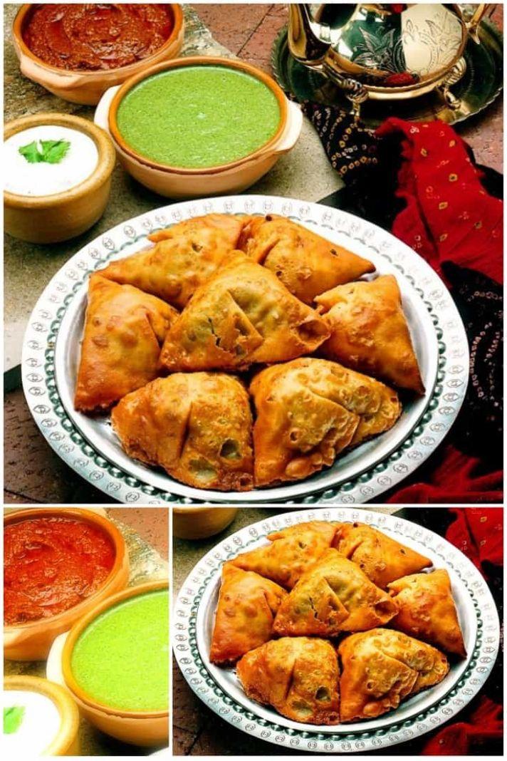 Traditional Indian Samosas - Healthy Recipes Veg Indian