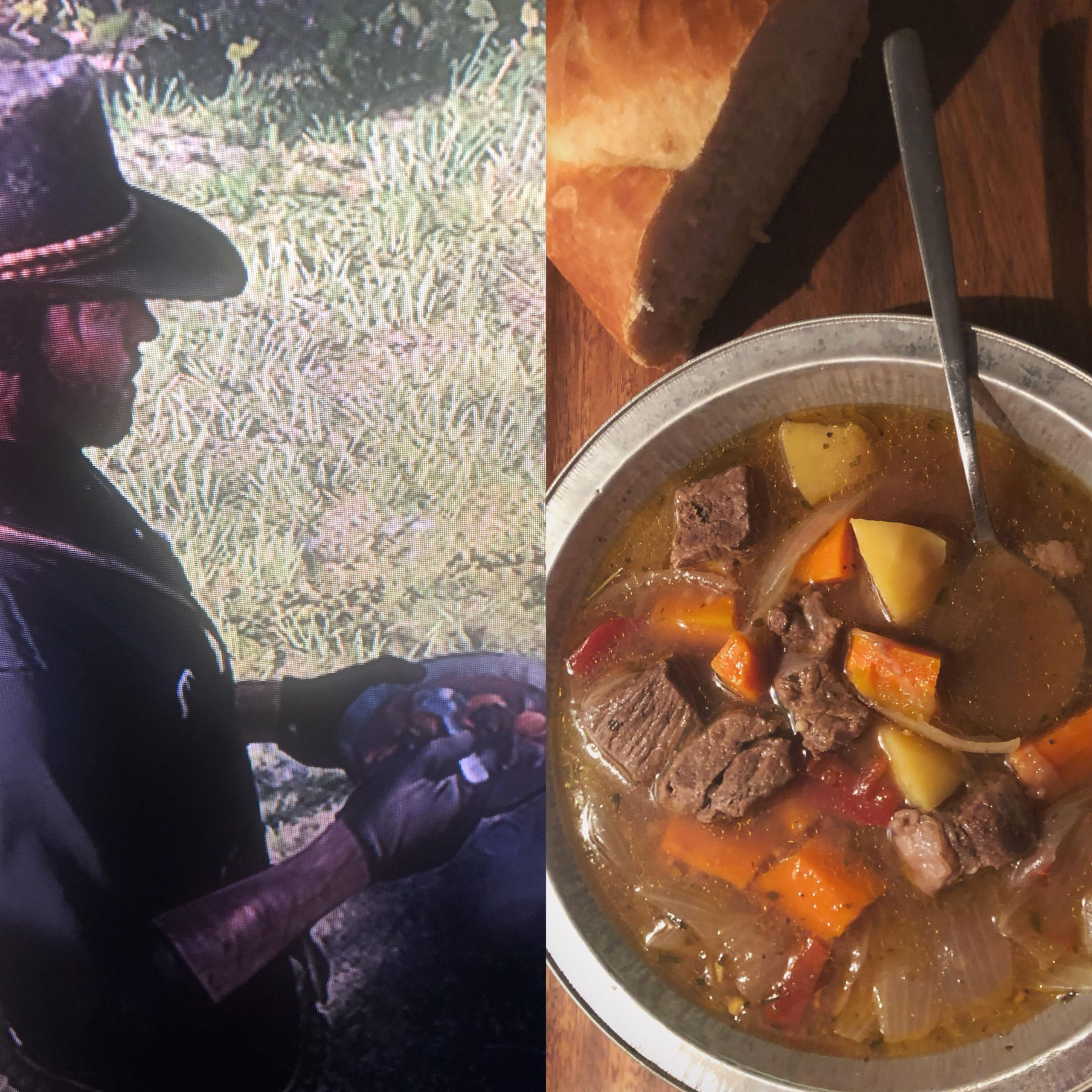 Tried my hand at Pearson's Stew- think I'll survive the upcoming ...