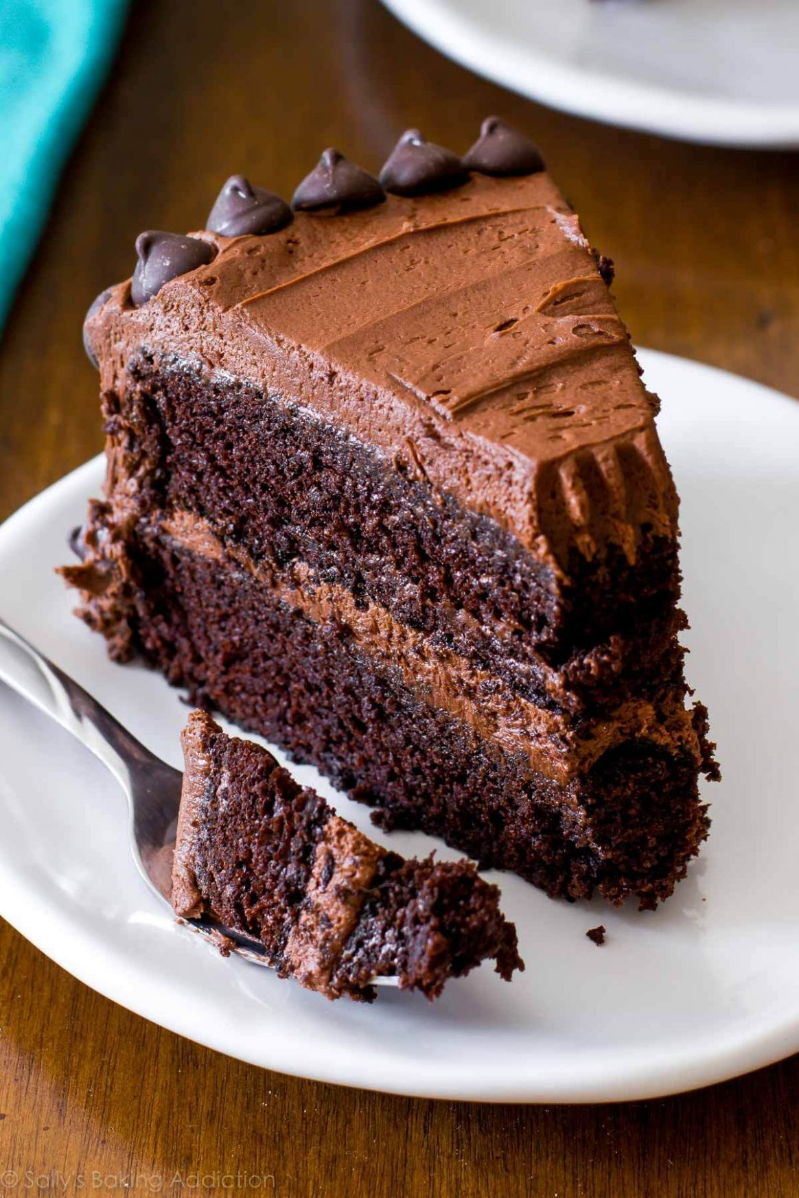 Triple Chocolate Layer Cake - Recipes Chocolate Cake Mix
